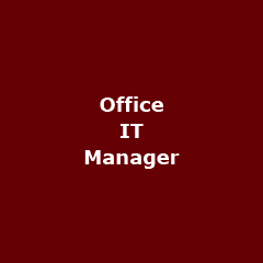 Office it manager - Office IT ManagerIn