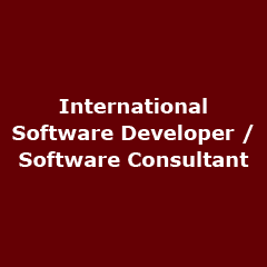 Software Developer – Software Consultant
