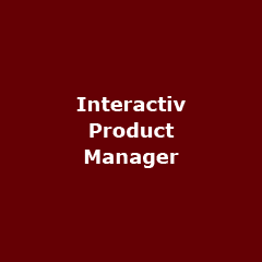 interactiv product manager - Interactive Product Manager