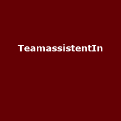 Internationale Team-AssistentIn