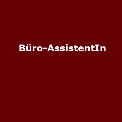 Internationale Büro-AssistentIn