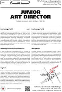 FiGD Berlin – Weiterbildung Junior Art Director