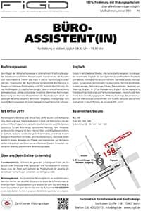 FiGD BüroassistentIn Info 300 - Office 2019 (Word, Excel, Powerpoint,...)