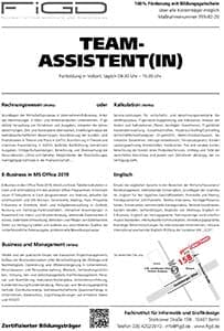 FiGD Teamassistenz info 300 - Projektmanagement - Präsentationstechnik